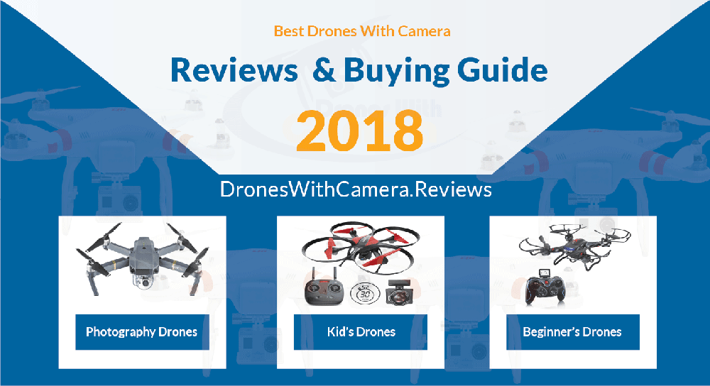 Best Drones With Camera For Sale | Ultimate Drones Buying Guide 2018