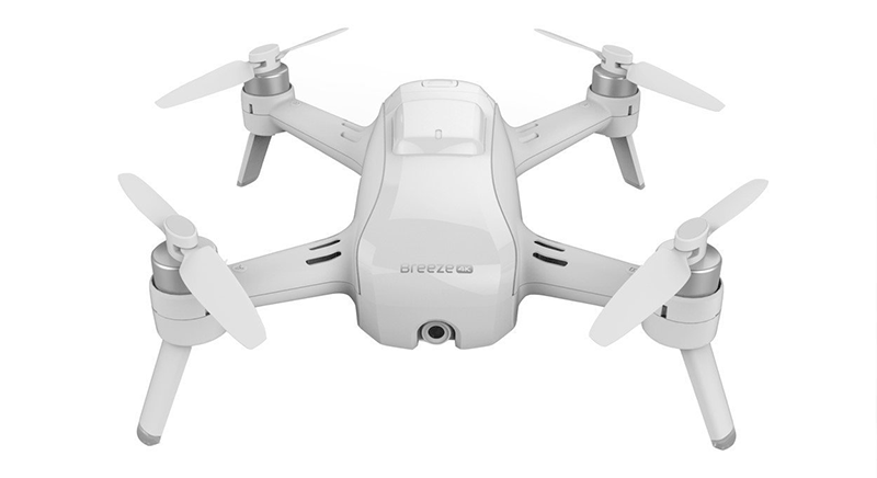 Yuneec Breeze Flying Camera - Drone Safe to Fly Indoor & Outdoor