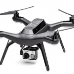 3DR Solo Aerial Drone in Black With Camera