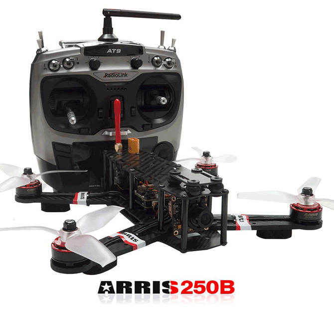 ARRIS X-Speed 250 Racing Drone with Camera