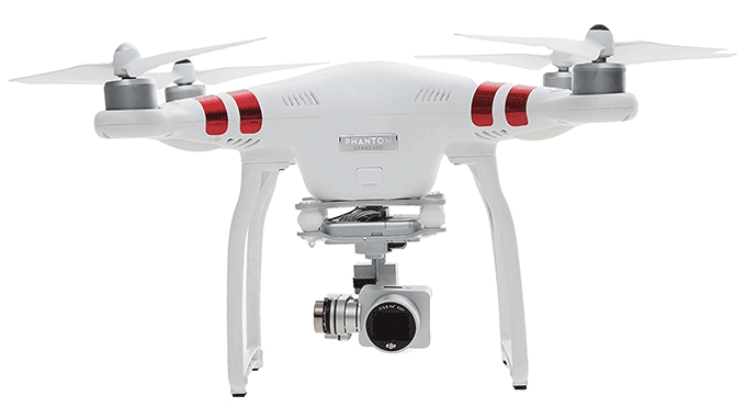 DJI Phantom 3 Standard Drone with 2.7K HD Video Camera