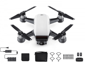 DJI Spark with Fly More Combo and Alpine White Drone Camera Review 2018