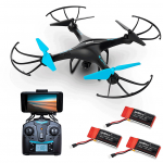 Drone with Camera Live Video - Updated U45W-A Quadcopter Drones