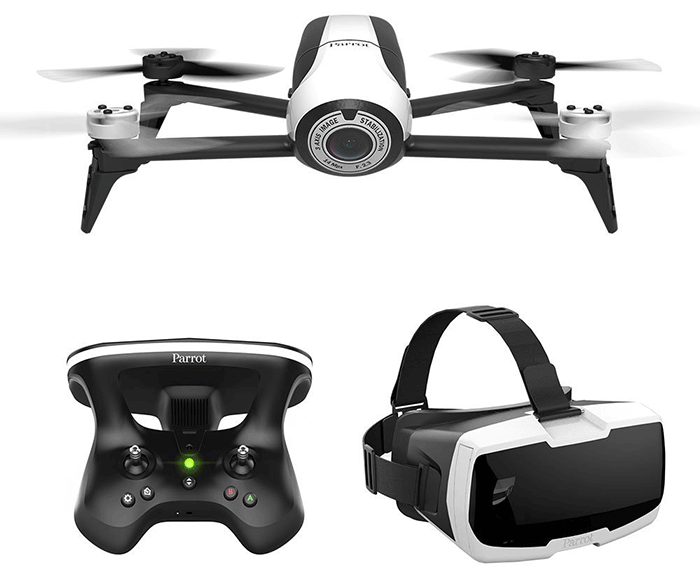 Parrot Bebop 2 FPV with HD 1080P Videos & 14Mpx Camera Drone