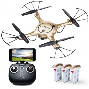 X5UW Drone with Live Camera Feed Altitude For Beginners Quadcopter