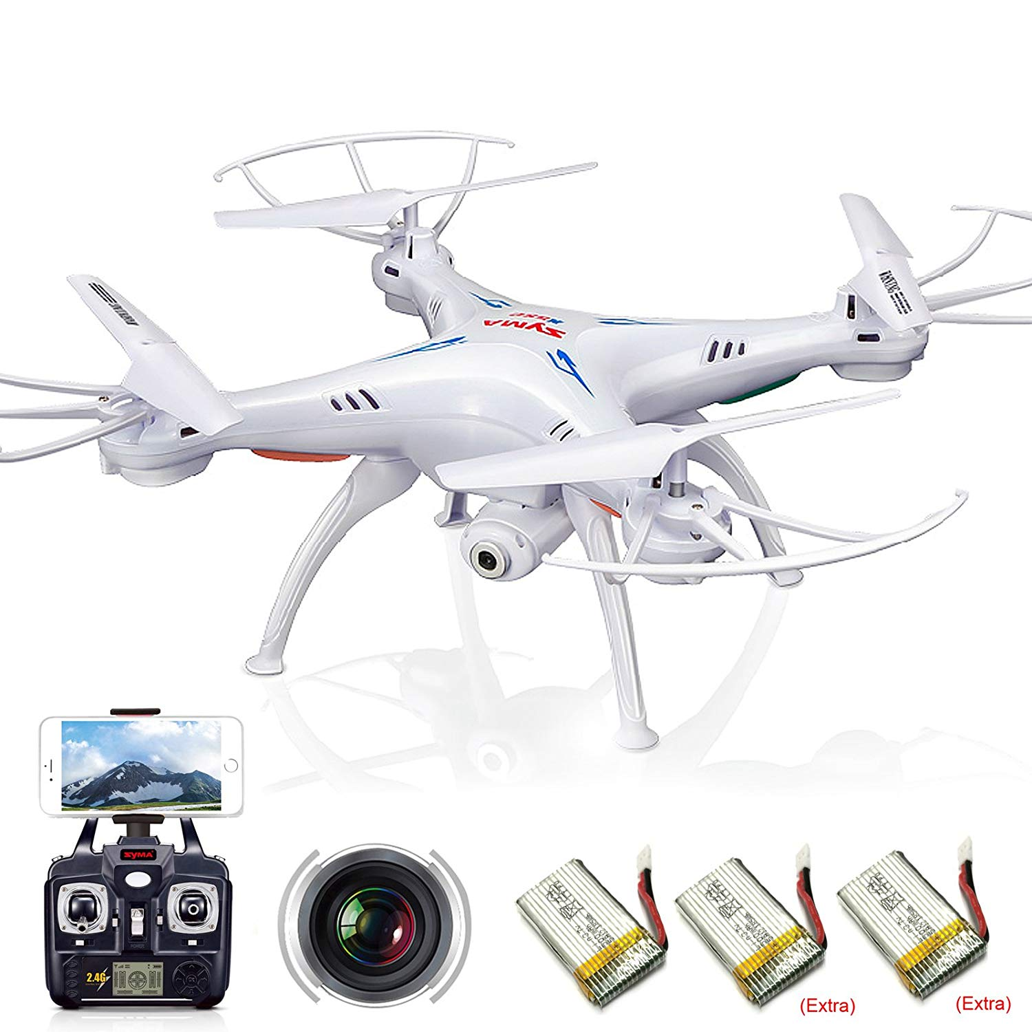 Cheerwing Syma X5SW best drone under 100 with camera