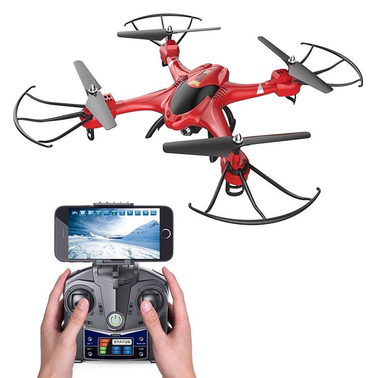 Holy-Stone-HS200-FPV-RC-best-drones-under-100-with-camera