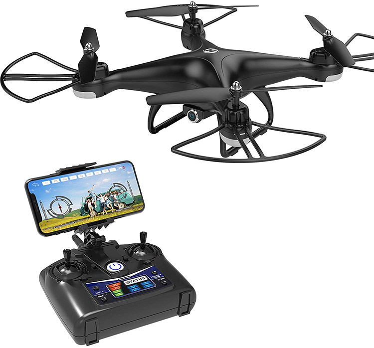 Holy Stone HS110D FPV RC Drone with Camera